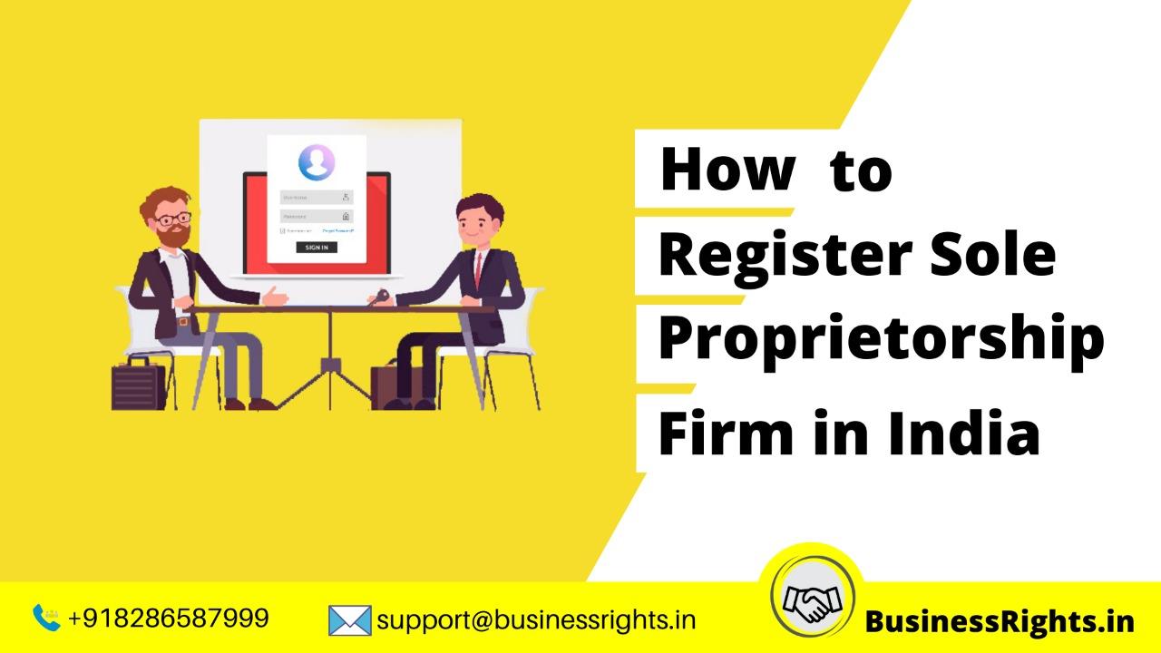 Sole Proprietorship Registration