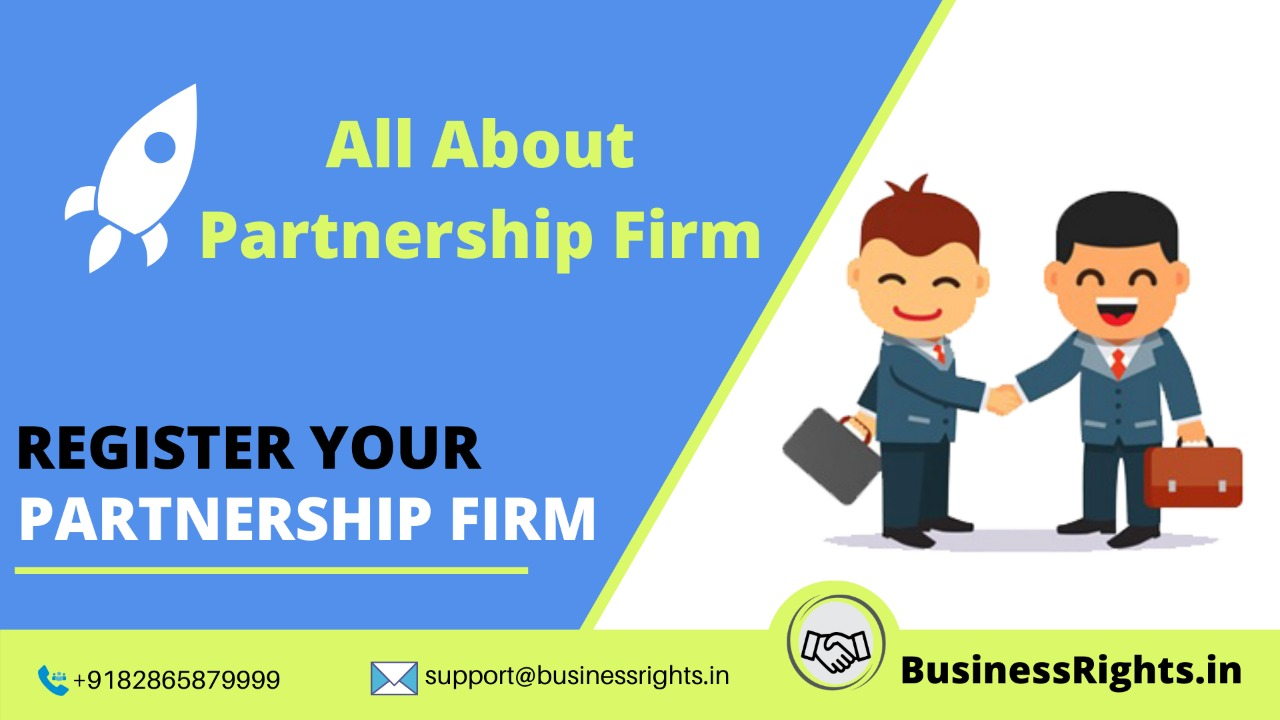 Partnership company registration for startup in India