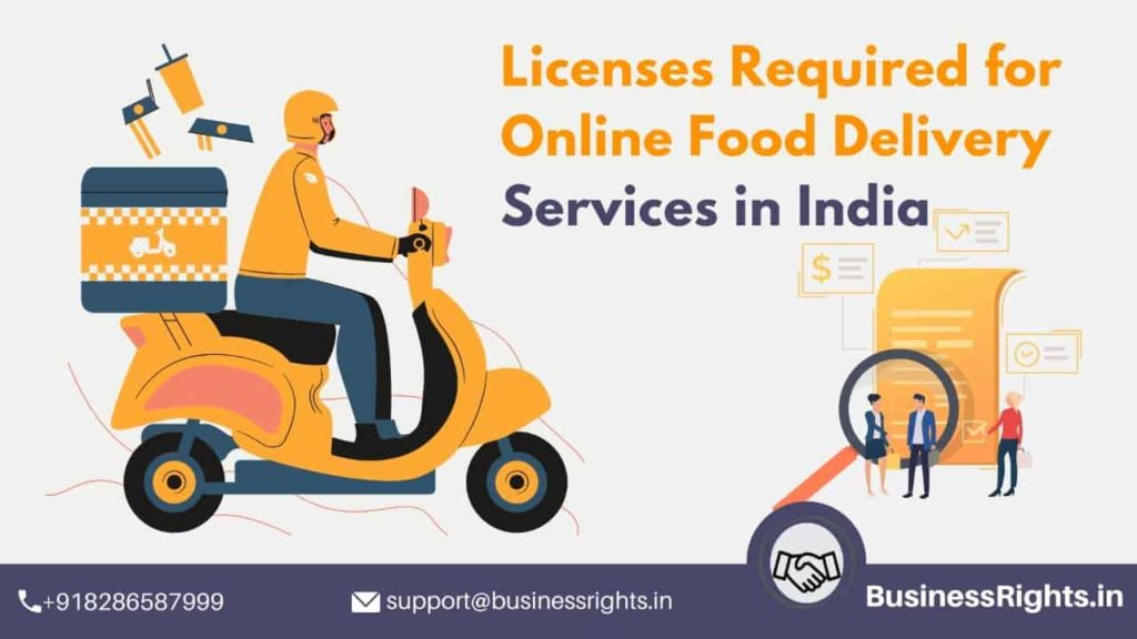 Licenses Required For Online Food Delivery Services