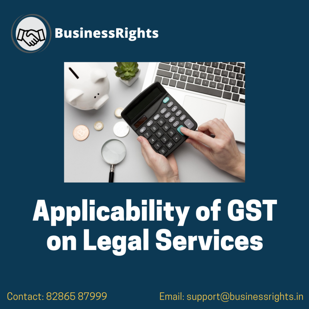 Applicability of GST on Legal Services in India