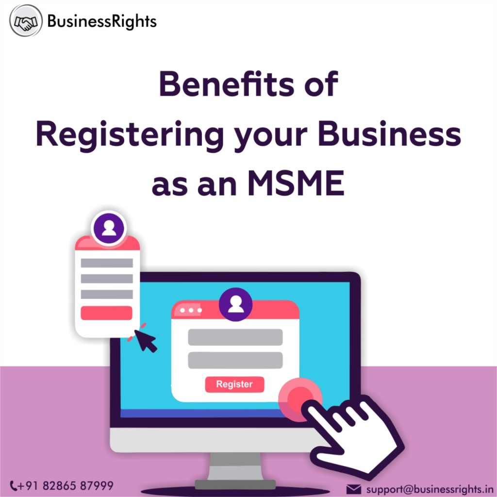 Benefits Of MSME Registration