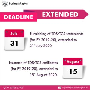 Deadline extended for TDS/TCS statement