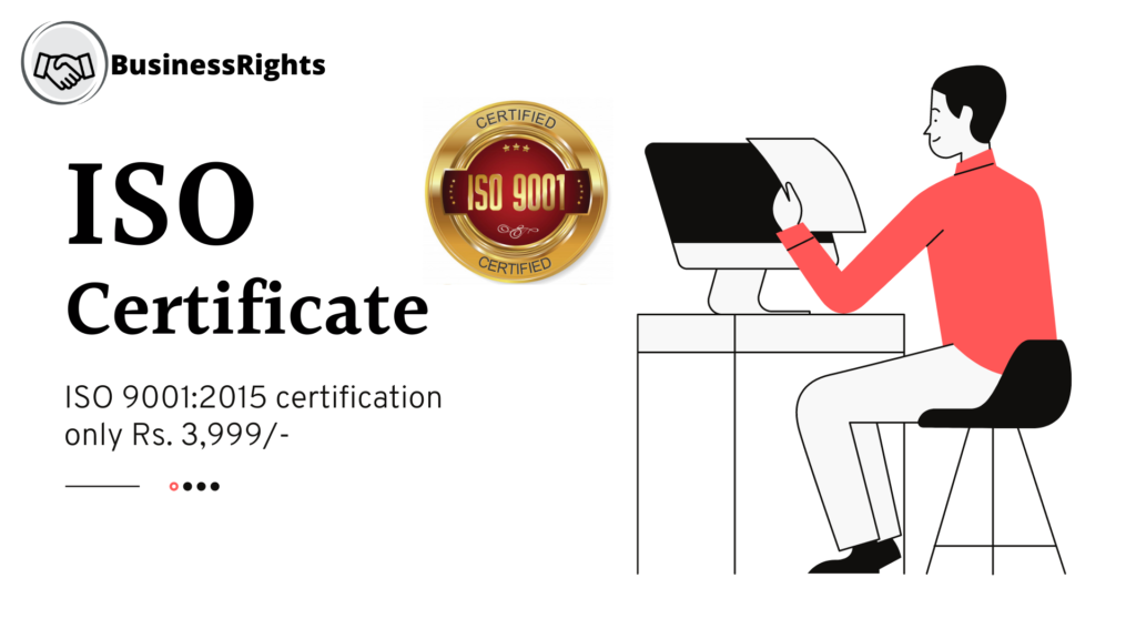 ISO 9001:2015 certificate price